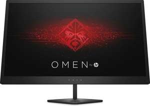 HP Omen 25 Gaming-Monitor (24,5'' FHD TN matt, 144Hz mit FreeSync, 1ms, 2x HDMI + DP, 2x USB-Out + 1x USB-In, VESA) für 219€ bzw. 199€ mit Masterpass [NBB]