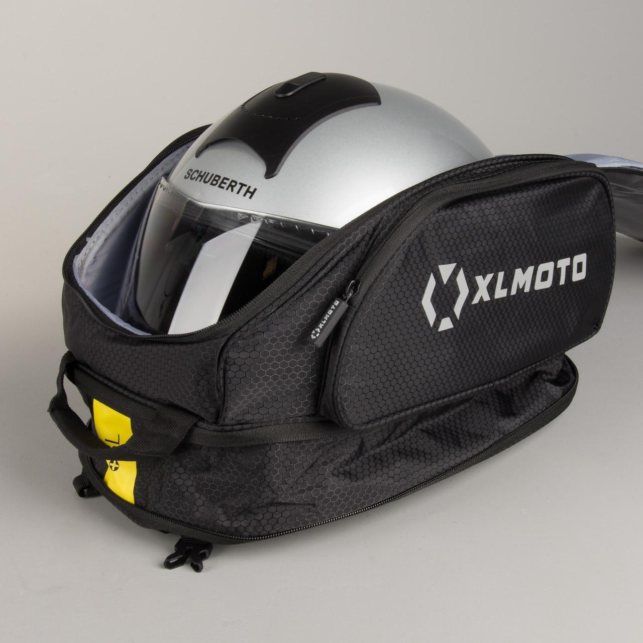 [XLmoto] Tankrucksack (20 + 8 Liter) - Tanktasche - auch als Rucksack verwendbar
