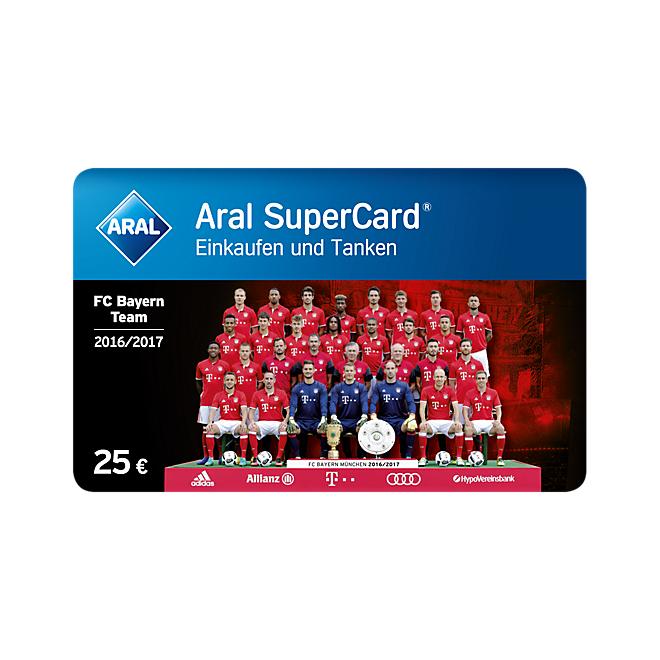 6% auf ARAL SuperCard Tanken dank FC Bayern und Shoop