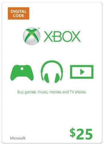 $25 Xbox Live US Guthaben (Xbox One & 360) für 16,81€ (CDKeys)