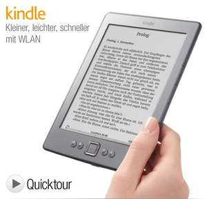 Amazon Kindle WLAN für 84 statt 99 € in Staples Filialen