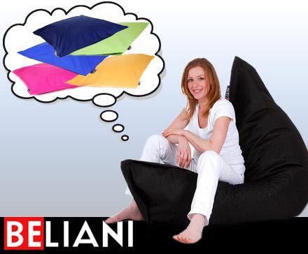 XXL In- und Outdoor Sitzsack von beliani.de @Dailydeal für 49,50 € inklusive Versandkosten