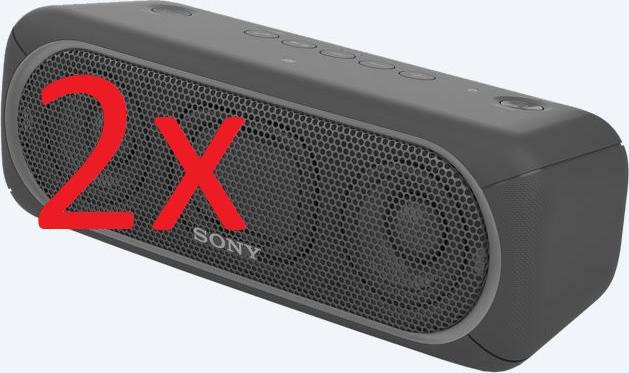 2x Sony SRS-XB30 Bluetooth-Lautsprecher (mit NFC) für 129€ versandkostenfrei [Mediamarkt]