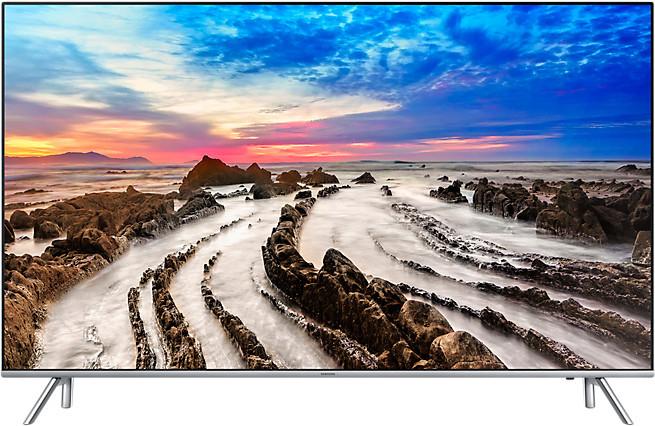 Samsung UE55MU7009 UHD TV (55'' UHD Edge-LED Dimming HDR1000 HLG, 2300PQI [100Hz nativ], 10Bits, Triple Tuner, 4x HDMI, 3x USB, VESA) für 899€ [Amazon]