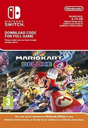 Mario Kart 8 Deluxe (Switch) für 41,92€ (Südafrika eShop)
