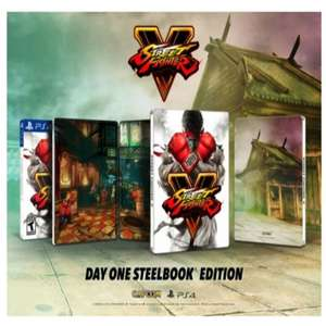 Street Fighter V Day One Steelbook Edition (PS4) für 19,17€ (MyMemory UK)