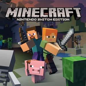 Minecraft: Nintendo Switch Edition (Switch) für 15,55€ (Südafrika eShop)