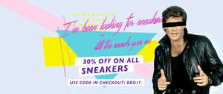 24 Stunden Feiertags-Sales bei Inflammable mit 30% Rabatt auf ALLE Sneaker -