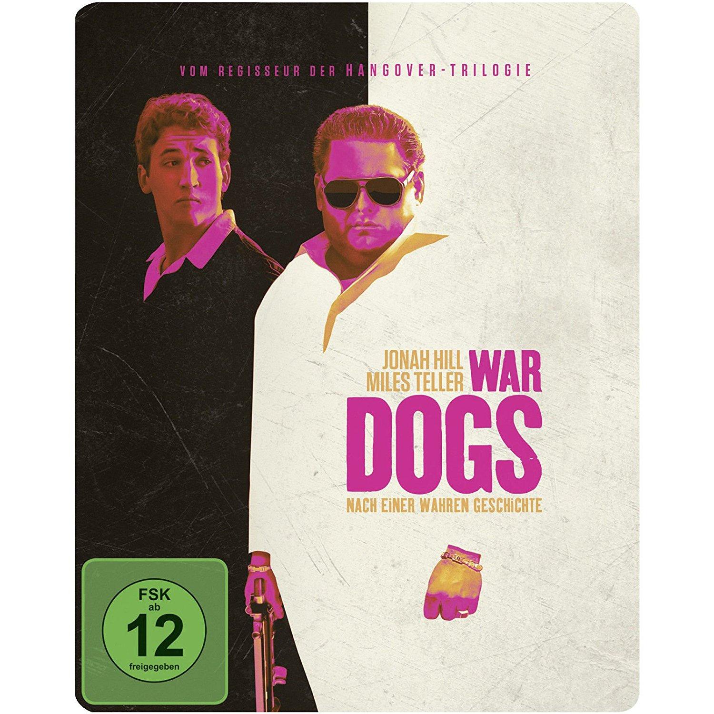 War Dogs Limited Steelbook Edition (Blu-ray + UV Copy) für 7€ versandkostenfrei & John Wick Limited Mediabook Edition (Blu-ray) für 13€ (Media Markt)