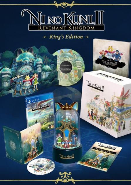 10% Rabatt im Bandai Namco Store - PS4 - NI NO KUNI II: SCHICKSAL EINES KÖNIGREICHS - KING'S EDITION für 134,99€