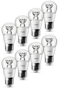 8er Pack Philips LED-Tropfenlampe (E27, 3W, 250lm) für 19,99€ inkl. VSK