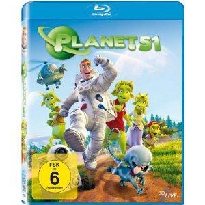 Kinderfilm: Planet 51 [Blu-ray] für  6,50€ inkl. VSK @Amazon