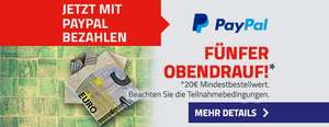 [office-partner] 5 Euro PayPal-Guthaben für den nächsten Einkauf   20€ MBW   Begrenzt auf 2000 Stk.
