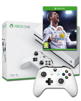 Xbox one Slim 1TB + FIFA 18 + 2. Controller Schweiz