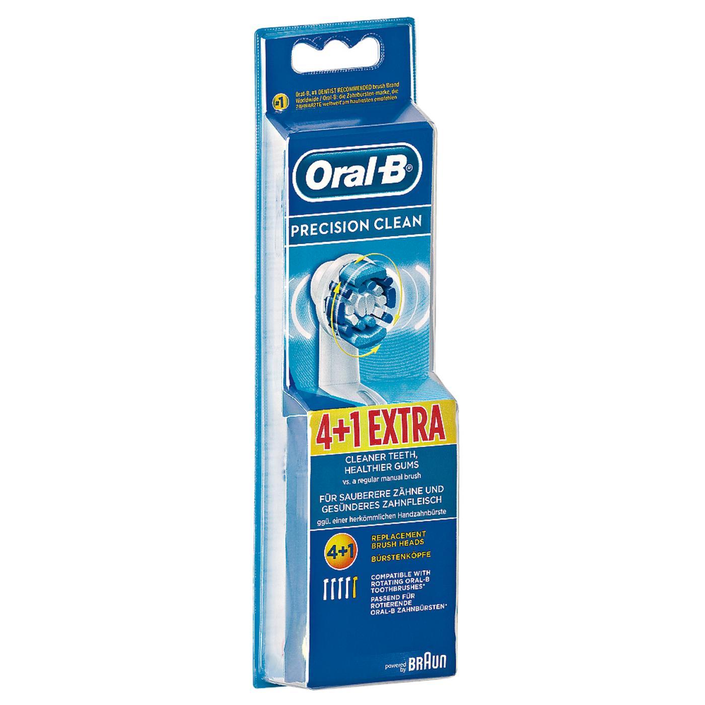 [Rossmann] Ab 09.10: Oral-B Precision Clean Ersatzbürsten 5 Stück für 8,95€