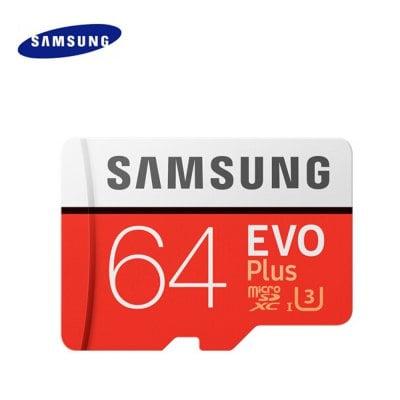 Samsung Evo Plus microSDXC mit 64GB Class 10 / U3 für 16,75€ (Gearbest)