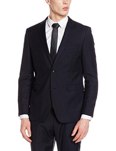 """Anzug 73 € bis 100 € von Esprit - 2-teilig - Slim Fit - """"schwarz/blau"""" - Dunkler Anzug [Amazon Prime]"""