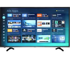 Hisense H55MEC3050 TV (55'' UHD Edge-lit HDR, 800Hz [interpol.], Triple Tuner, 4x HDMI, 3x USB, LAN + WLAN mit Smart TV, CI+, VESA, EEK A) für 499€ [AO]