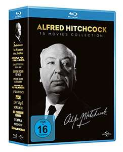 [Amazon] Alfred Hitchcock Collection – 15 Blu-ray Box (2,60€ je Disk)
