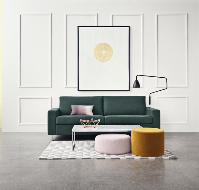 [Für Freunde des Designs] 50% auf konfigurierbare skandinavische Sofas der Marke Bolia (ab 784€)