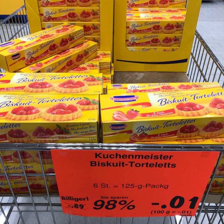 [Lokal] Kuchenmeister Biskuit-Tortelettes