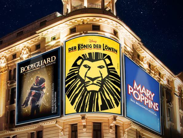 König der Löwen (HH), Mary Poppins (STG) und Bodyguard (STG) bei vente privee noch bis morgen früh um 6Uhr