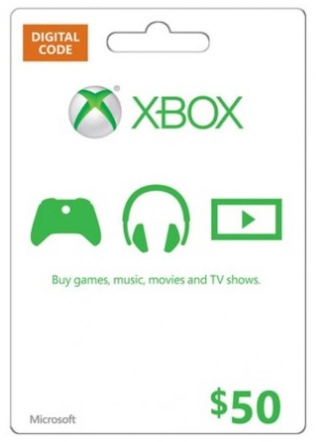$50 Xbox Live US Guthaben (Xbox One & Xbox 360) für 34,67€ (CDKeys)