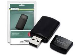 WLAN-n (300Mbit) USB Stick - WPS-fähig - Digitus DN-7053-2 für 8,34€ inkl. VSK