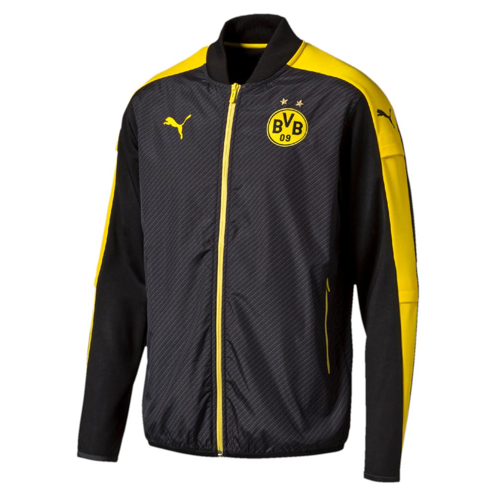 diverse PUMA BVB Borussia Dortmund Jacken/Langarmshirts für 19,09€ (+Vsk 4,95) -10% möglich @ Sport1a (App)