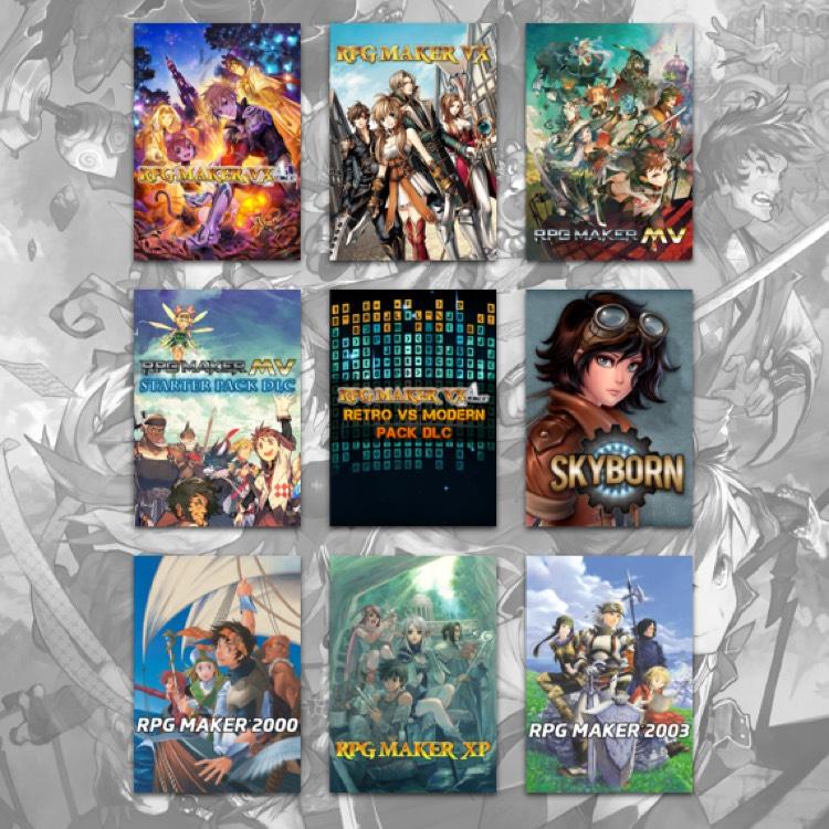 [Humble Bundle] RPG Maker Software Bundle