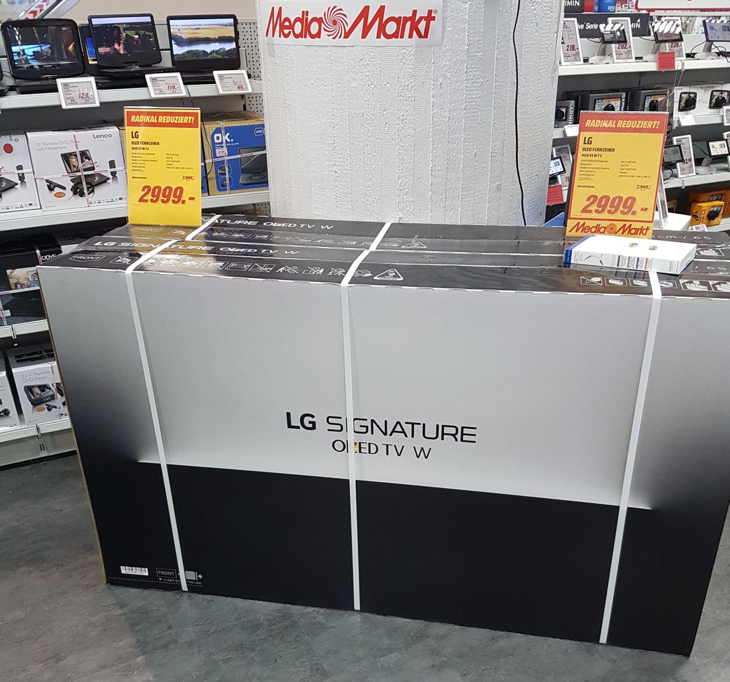 LG OLED 65W7V 2999€ [Köln]