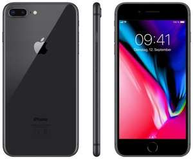 (Computeruniverse Ebay) Apple iPhone 8 Plus - 64GB - Space Grau o. Simlock