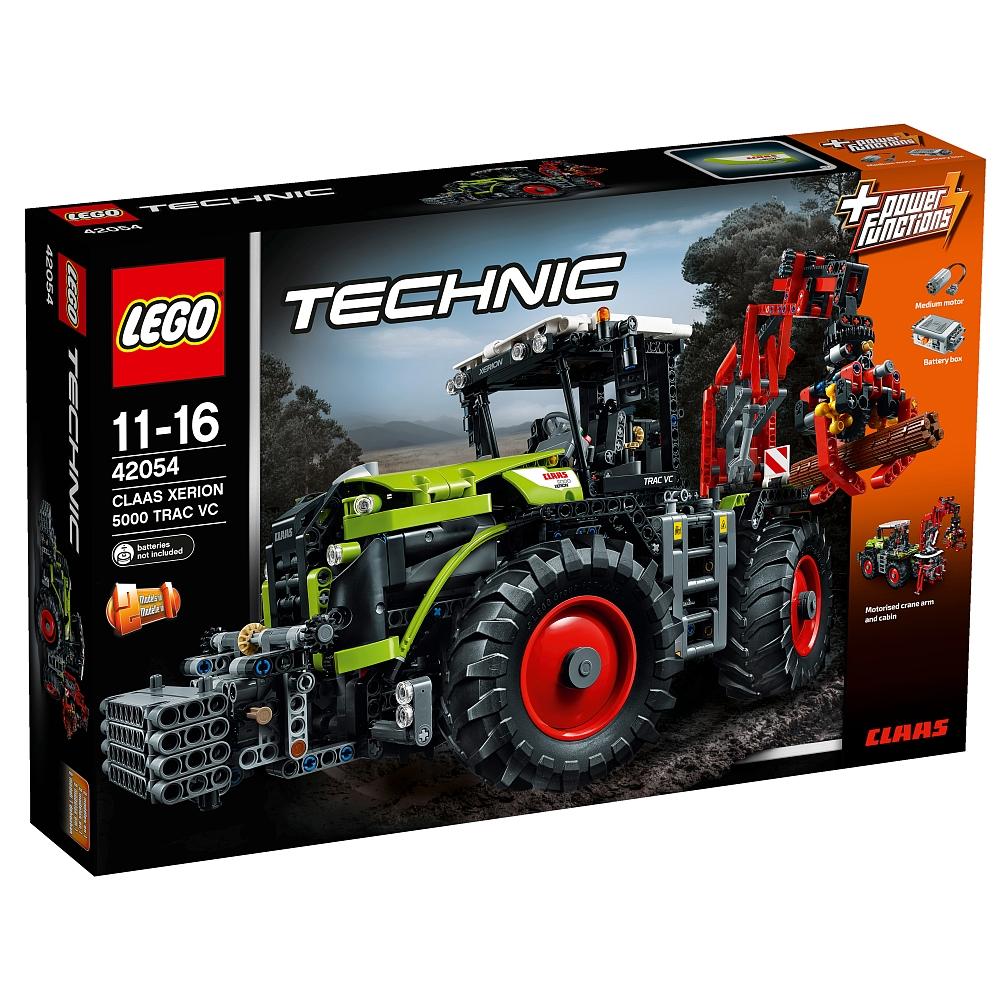 Lego Technic 42054 Xerion 5000 Trac VC für 99,98€ und Lego Duplo 10507 Eisenbahn Starter Set für 29,98€ bei [ToysRUs]