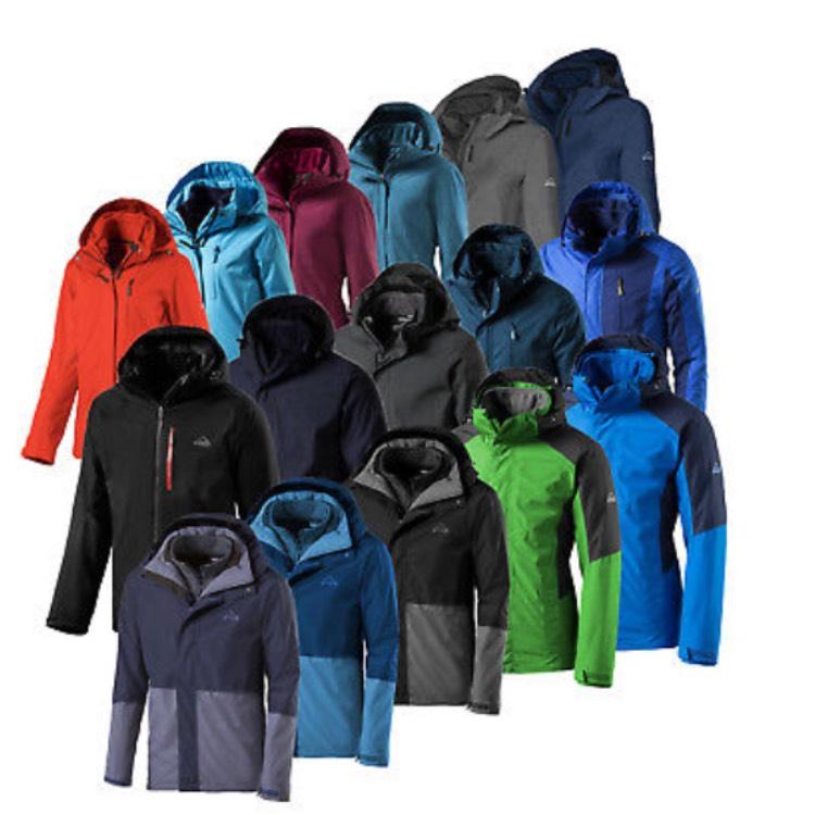 McKinley Damen und Herren Doppeljacken 3in1 Jacken für 39,99€