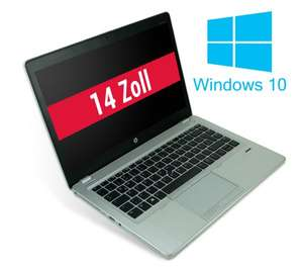 [SECOND HAND NOTEBOOK] HP Notebook 14 Zoll, Intel i5 CPU, 8 GB RAM, 128 GB SSD, Windows 10 Home