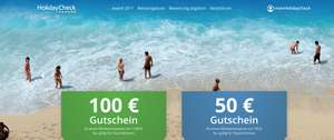 Holiday Check 100 EUR Reisegutschein
