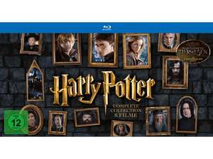 Harry Potter - The Complete Collection (Layflat Book) (Blu-ray) für 39€ (Media Markt + Saturn)