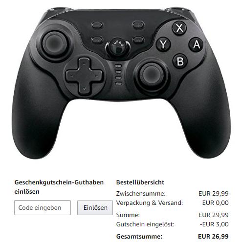 LREGO Wireless Controller für Nintendo Switch [Prime]