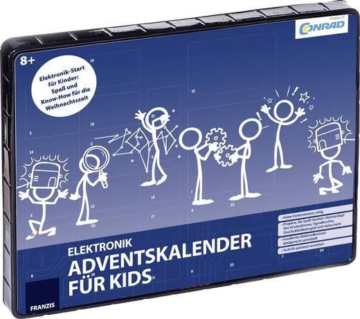 Adventskalender Franzis Verlag - Elektronik-Adventskalender für Kinder ab 8 Jahren - für 5,09€ [Conrad Abholung]