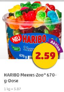[Penny] 670g Haribo Meereszoo