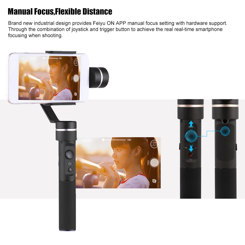 Feiyu Tech SPG Smartphone und ActionCam 3-Achsen Gimbal (GoPro) PVG 199,00€