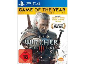 [PS4] The Witcher 3 - Wild Hunt (Game of the Year Edition) 17,99€ bei Abholung @ Saturn