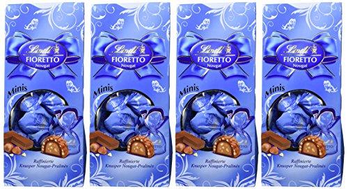 [amazon plus] Lindt Fioretto Mini Nougat, 4er Pack (4 x 115 g) für 5,67 €/ Marzipan schon weg