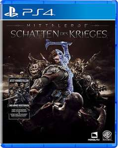 Mittelerde: Schatten des Krieges [PS4 & Xbox One] - bereits seit 04.10. im Versand! @www.spielegrotte.de