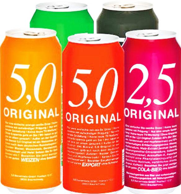 5.0 Original Bier für nur 35 Cent (Thomas Philipps)