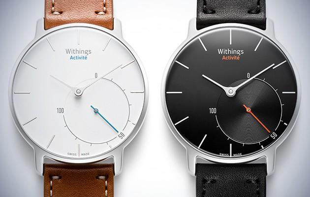 Withings Activité Sapphire Smartwatch in braun und schwarz