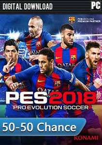 Pro Evolution Soccer 2018 für 14,99 € o. 29,98 € TOP!