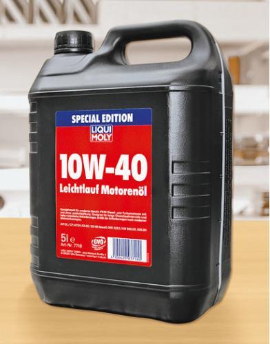Liqui Moly Leichtlauf Motorenöl 10w-40 5l für 14,99€ KAUFLAND