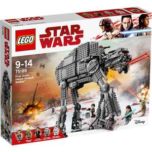 LEGO Star Wars 75189 - First Order Heavy Assault Walker für 89,99€ (Karstadt)