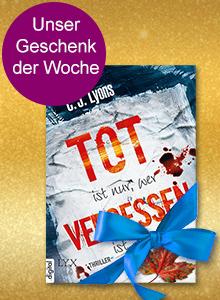 5 Jahre eBook.de - Gratis eBook Nr.2: Tot ist nur, wer vergessen ist (C.J. Lyons)